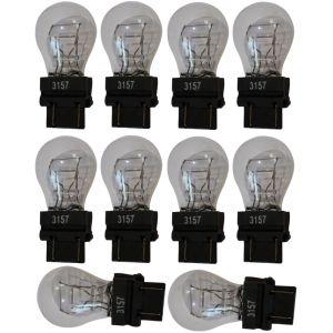 Aerzetix : 10x Ampoule 12v 3157 W2.5x16q P27/7w - Neuf