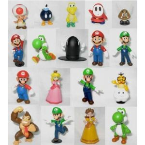 Set de 18 figurines Super Mario Bros