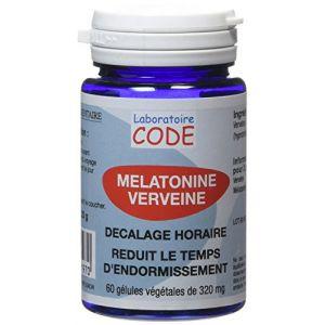 Laboratoire CODE Mélatonine Verveine - 60 gélules