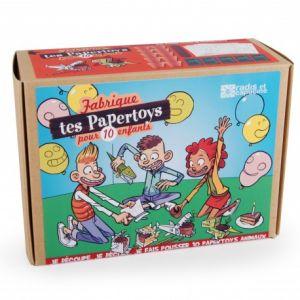 Radis et capucine Coffret anniversaire pour 10 enfants 'Je fabrique mes animaux en papier'