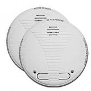 Chacon 34126 - 2 détecteurs de fumée interconnectables