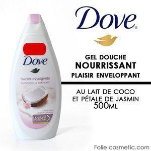 Dove Mon Soin Cocooning - Douche soin nourrissante au lait de coco et pétales de jasmin
