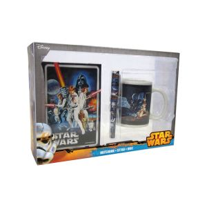 Coffret Star Wars mug + carnet