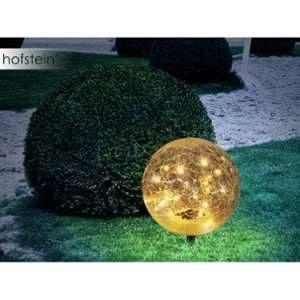 Globo Lighting Lampe solaire Sphère effet brisé - Grand