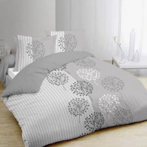 Vision Anna - Housse de couette et 2 taies 100% coton (220 x 240 cm)