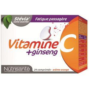Nutrisanté Vitamines C +ginseng - 24 comprimés