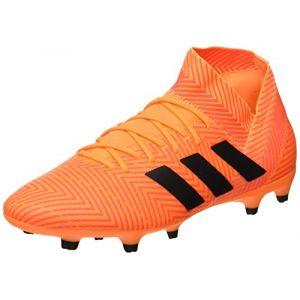 Adidas Nemeziz 18.3 FG, Chaussures de Football Homme, Multicolore (Zest/Cblack/Solred Da9590), 44 EU