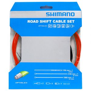 Shimano Road PTFE Shift Cable Set Red