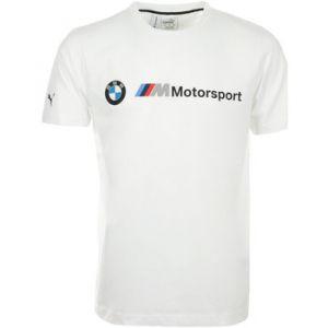 Puma T-shirt BMW Mms Logo Tee blanc - Taille 36,EU XXL,EU S,EU M,EU L,EU XL