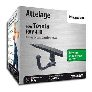 Bosal Attelage «col de cygne> démontable sans outils 049-993