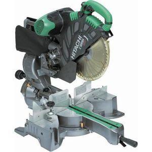 Hitachi Scie radiale à coupe d'onglet C12RSH,visée laser, Ø 305 mm, 1520 W