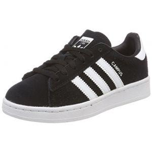 Image de Adidas Campus C, Chaussures de Fitness Mixte Enfant, Noir (Negbas/Ftwbla 000), 31 EU