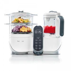 Babymoov Nutribaby+ - Robot cuiseur vapeur et mixeur
