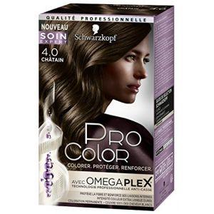 Image de Schwarzkopf Pro Color Coloration châtain 4.0