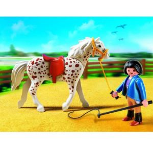 Playmobil 5107 - Cheval et monitrice
