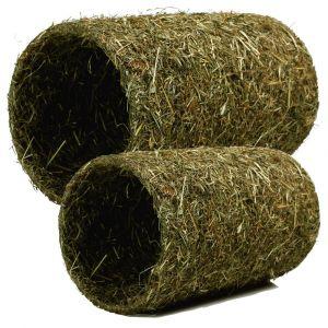 JR Farm Tunnel de foin pour rongeur et lapin 30 x 20 cm