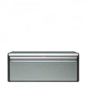 Brabantia 484322 Boîte à Pain avec Couvercle Acier Metallic Mint 25 x 46,4 x 18,7 cm