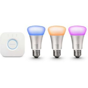 Philips Hue White & Color Kit de démarrage A60 E27