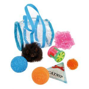 Zolux Lot de 7 jouets pour chat Bursicat