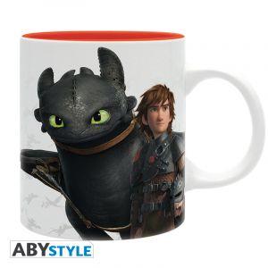 Abystyle Mug Harold, Krokmou & Emblème Dragons 320 ml