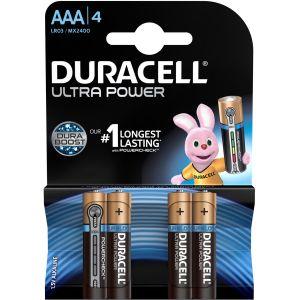 Duracell Pile 1,5v LR03 ultra - Blister de 4