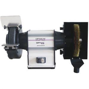 Opti Grind Touret à meuler avec brosse ø 150 - 450W GU15B 230V