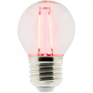 Conforama Ampoule LED FIL SPH ROUGE 4W E14