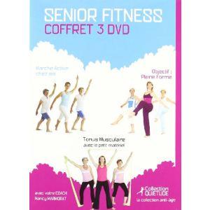 Coffret Senior Fitness - Marche active chez soi + Tonus musculaire + Objectif pleine forme