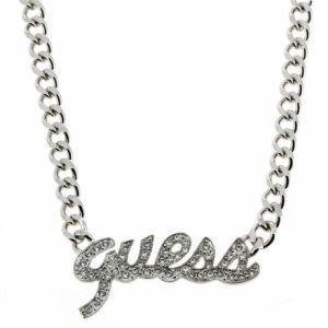 Guess Ubn10902 - Collier en métal argenté