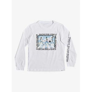 Quiksilver Stormy Riders - T-Shirt Manches Longues - Garçon Enfant 8-16 Ans