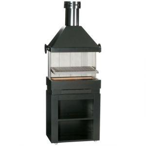 Ferlux Patio - Barbecue inox à charbon de bois
