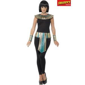 Smiffy's 41556 Déguisement Adulte Kit de L'Égyptienne, Doré, Taille Unique