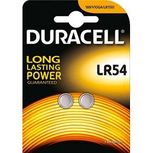Duracell Electronics LR54 - Blister de 2 piles bouton