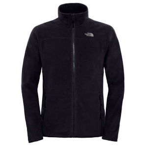The North Face 100 Glacier Full Zip - Veste polaire taille M, noir