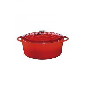 Küchenprofi 0402001435 Cocotte ovale en fonte émaillée 35cm rouge
