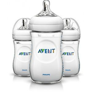 Philips Avent SCF693/37 - 3 biberons Natural en polypropylène 260 ml
