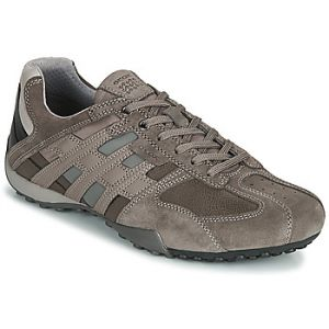 Geox Baskets basses UOMO SNAKE Gris - Taille 39,40,41,42,43,44,45,46