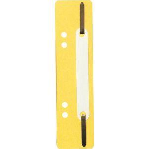 Exacompta 426004B - Fixe-dossier à lamelles, polypro, coloris jaune