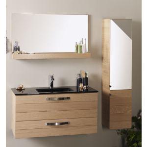 Norway Ensemble Meuble Vasque Zen Vasque Et Miroir Comparer Avec Touslesprix Com