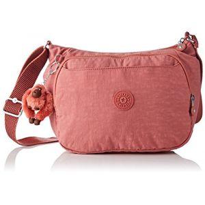 Kipling Cai, Sacs bandoulière femme, Rose (Dream Pink), 14x28x22 cm ( b06c750a0cf