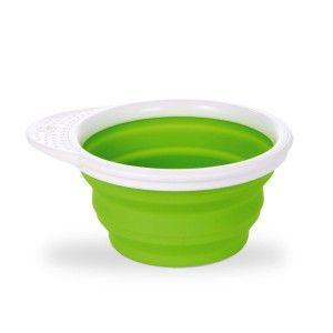 Munchkin Go Bowl - Bol en silicone rétractable avec couvercle