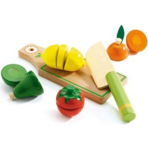 Djeco 06526 - Fruits et légumes à couper