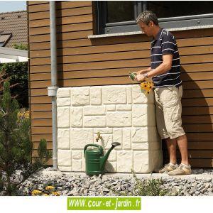 Graf Brick - Récupérateur d'eau mural 300 L