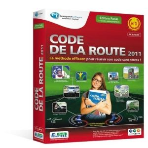 code de la route 2011 edition facile pour windows mac os comparer avec. Black Bedroom Furniture Sets. Home Design Ideas