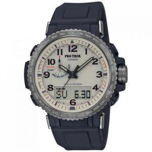Casio PRO TREK PRW-50Y-1BER Watch Men, creme/black Montres triathlon