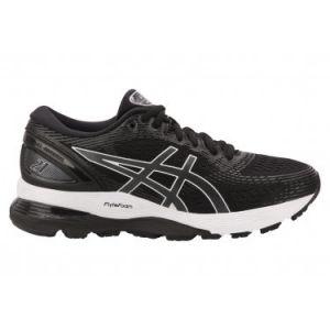 Asics Gel-Nimbus 21, Chaussures de Running Femme, Multicolore (Black/Dark Grey 001), 41.5 EU