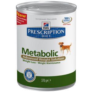 Hill's Prescription Diet Metabolic Canine - 12 boites 370 g
