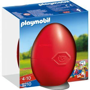Playmobil 9210 Figurine Surprise Joueurs De Basket-Ball Avec Panier