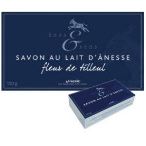 Anes & Sens Savon au lait d'ânesse, parfum tilleul - 100g