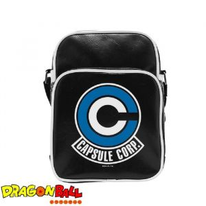 Abystyle Dragon Ball - Sac Besace Caps Corp - Vinyle Petit Format